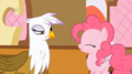 my-little-pony-friendship-is-magic - Pinkie Pie and Gilda screencap