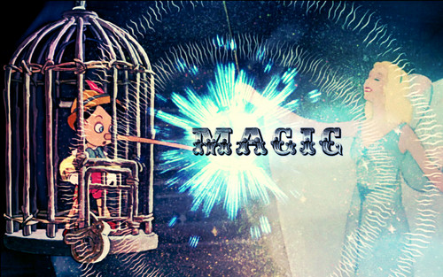 Pinocchio - Magic wallpaper