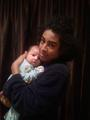 Princeton and his newest cousin Noah <3
