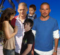 Prison Break - Finale - Michael, Lincoln, LJ, Sara, MJ - prison-break photo