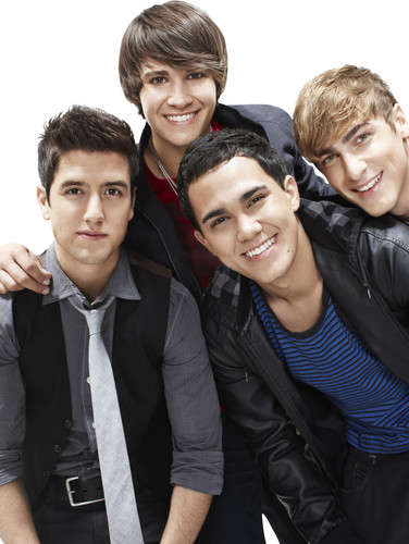 Big Time Rush achtergrond containing a business suit, a suit, and a dress suit called Promoshoot for Big Time Rush