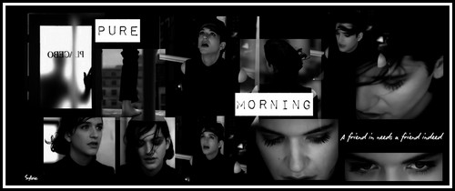 Pure Morning - brian-molko Fan Art