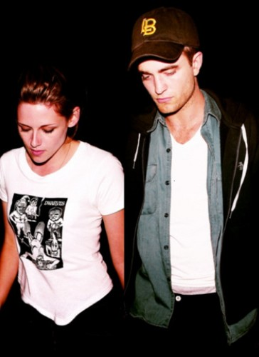 Robert Pattinson & Kristen Stewart 壁纸 entitled R/K manips