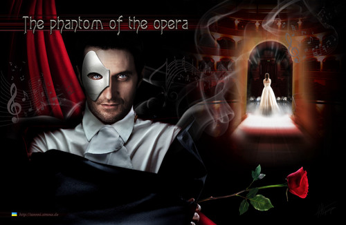 Richard Armitage wallpaper possibly containing a fonte entitled RA_The Phantom of the Opera