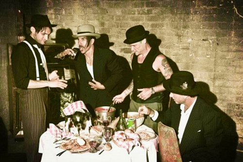 Red Hot Chili Peppers wallpaper probably containing a bouquet, a brasserie, and a dinner table called RHCP