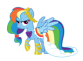 Rainbow Dash Gala Dress