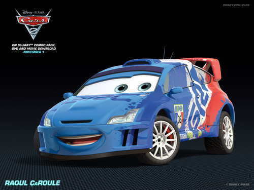 Disney Pixar Cars 2 wallpaper called Raoul CaRoule