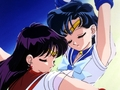 Rei and Ami - bakugan-and-sailor-moon wallpaper