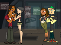 Replaced (I LOVE BOTH COUPLES NO HATE COMMENTS) - total-drama-island fan art