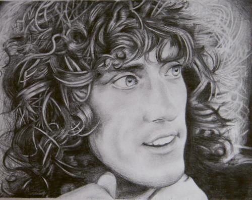 Roger Daltrey drawing