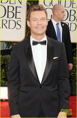 Ryan Seacrest - Golden Globes 2012 Red Carpet