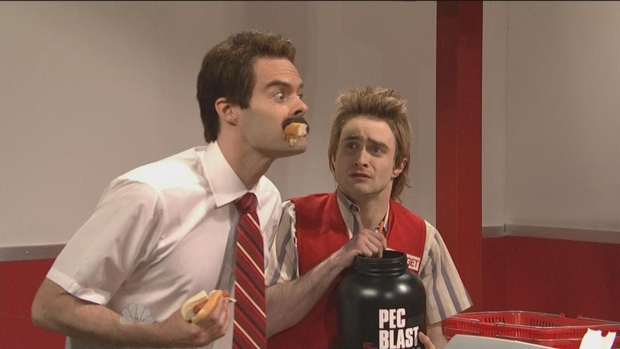 Daniel Radcliffe SNL 2012