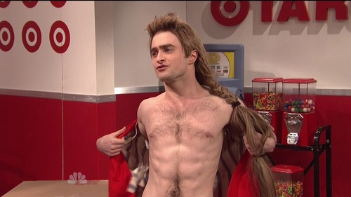 Daniel Radcliff hình nền probably containing a diner, a hunk, and an abattoir entitled SNL 2012