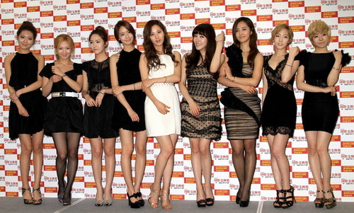 SNSD @ 23th Japan International Jewelry Convention