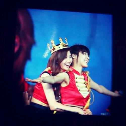 SNSD @ Girls Generation 2nd Tour in Hong Kong concierto (Fantaken)