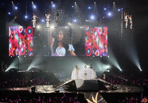 SNSD @ Girls Generation 2nd Tour in Hong Kong konsert