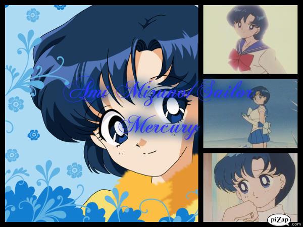 Sailor Mercury Collage by Ami_Mizuno