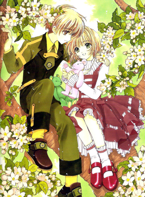 sakura and syaoran - photo #16