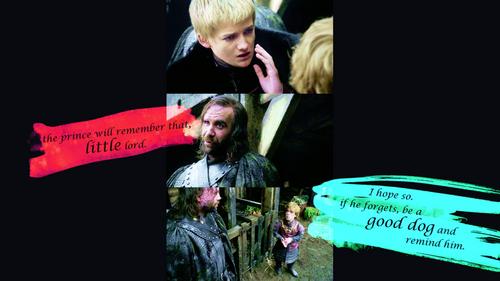 Sandor, Tyrion & Joffrey