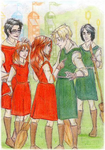 Scorpius and Rose: Quidditch