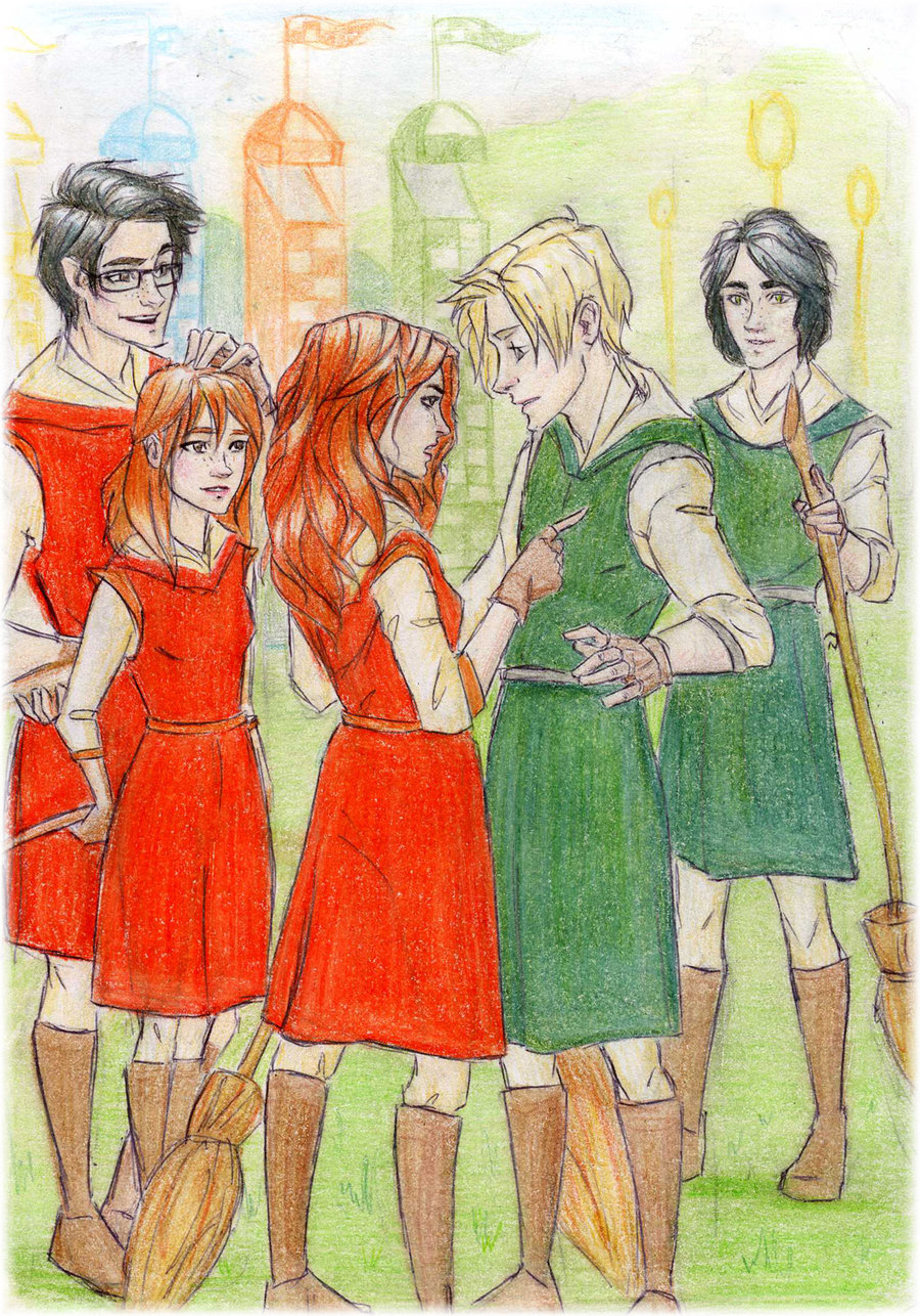Scorpius and Rose: Quidditch
