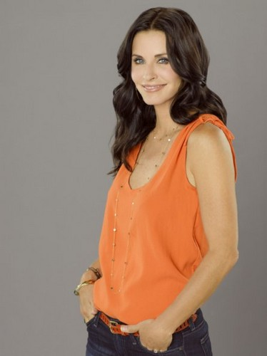Cougar Town wallpaper probably containing a top titled Season 3 - Cast Promotional Photos - Courteney Cox