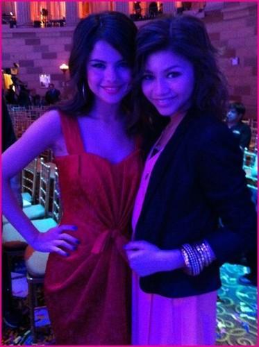 Selena and Zendaya