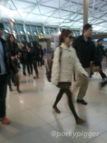 Seohyun Airport Fashion Hong Kong and Gimpo