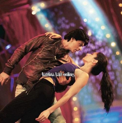 Shahrukh Khan and Katrina Kaif Rehearsing