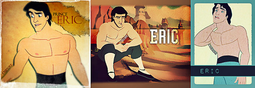 Disney Prince kertas dinding containing Anime called Shirtless Eric