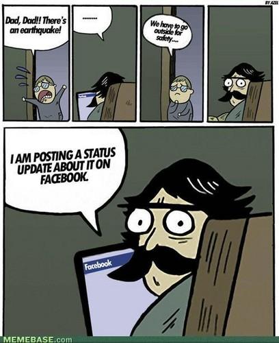 Stare Dad #2 facebook Earthquake