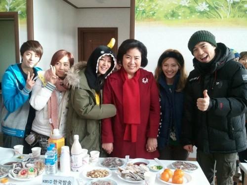 Sunny and Hyoyeon @ KBS Invincible Youth S2