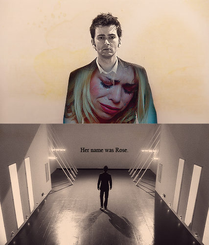 The Doctor and Rose wallpaper containing a sign called Ten&Rose<3