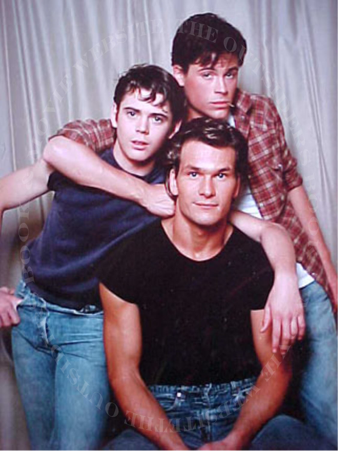 The Outsiders Rob Lowe Shower The Curtis Family imag...