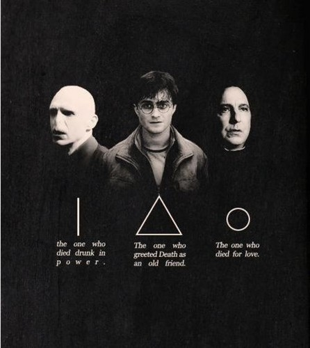 Harry Potter hình nền titled The Deathly Hallows