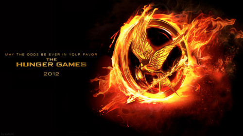 The Hunger Games kertas dinding