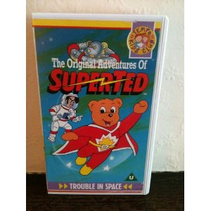 The Original Adventures of Superted-Trouble in 太空 VHS (1991)