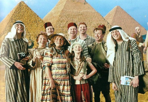 The Weasleys in Egypt