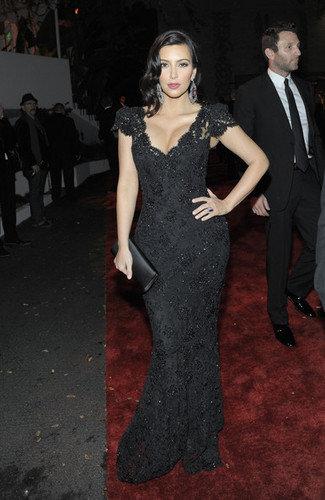 The Weinstein Company&#39;s 2012 Golden Globe Awards After Party - kim-kardashian Photo