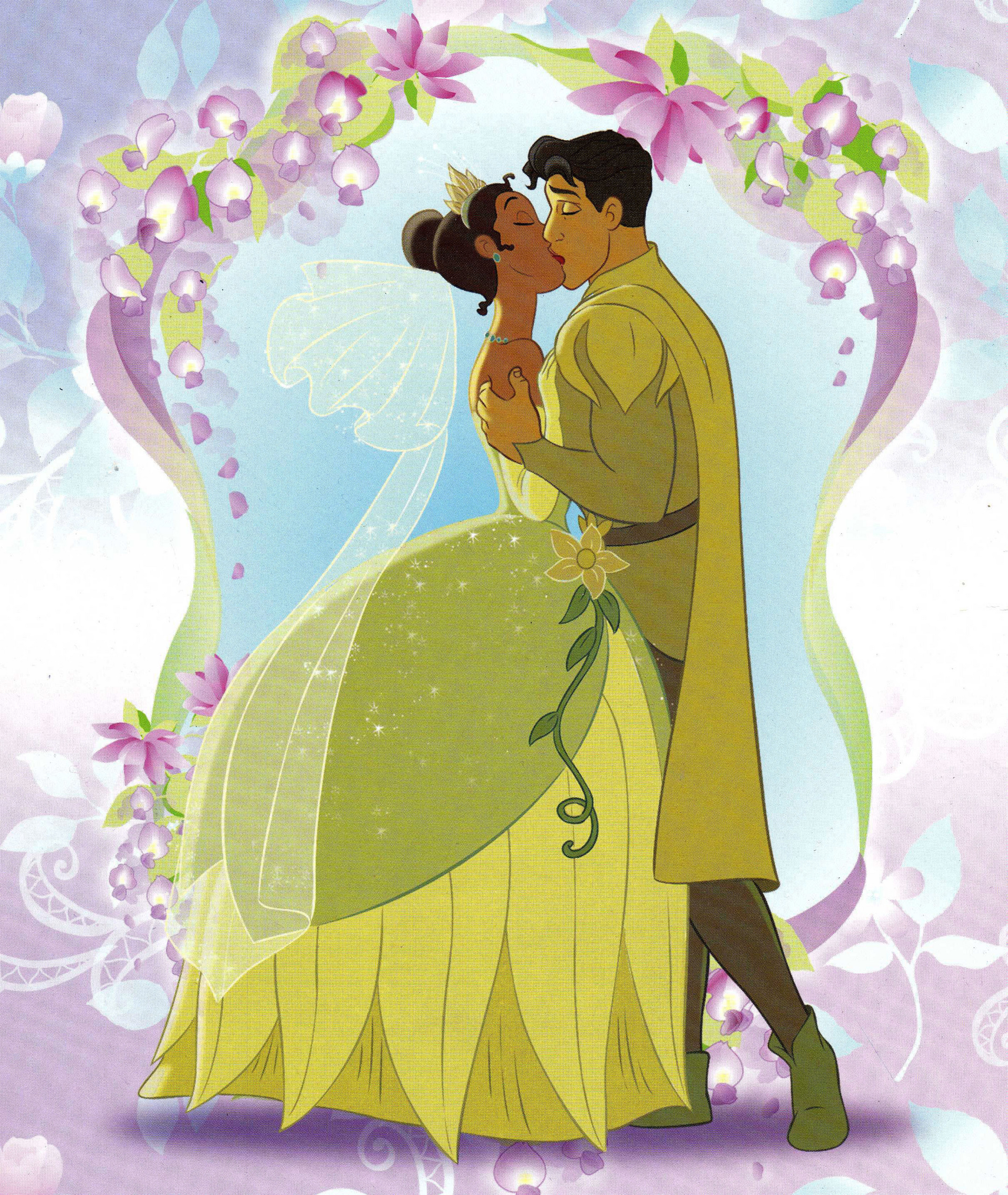 Disney Kisses images Tiana ^ Naveen ^^ HD wallpaper and ...