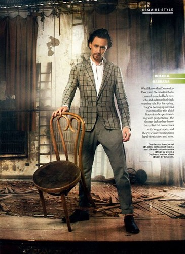 Tom Hiddleston wallpaper probably with a business suit called Tom Hiddleston in Esquire