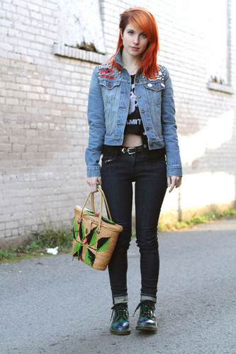 Under The Guise: Hayley Williams, Nashville सड़क, स्ट्रीट Fashion