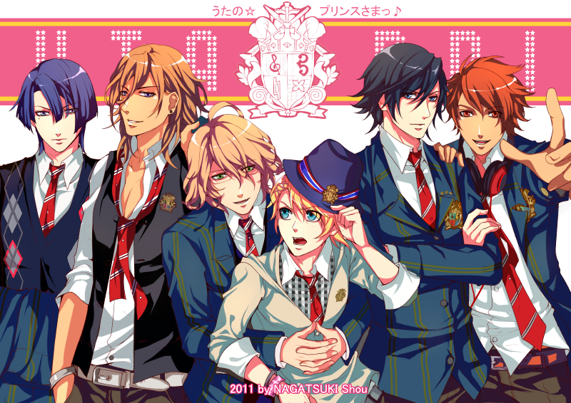 Anime Characters 2000 : Uta no prince sama fan art