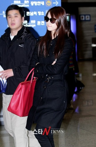 YOONA @ incheon airport