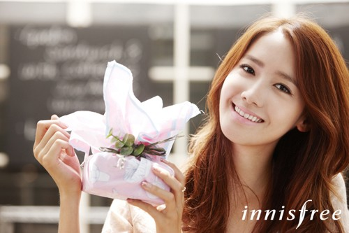 Yoona Innisfree  - girls-generation-snsd-so-nyeo-shi-dae photo