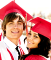 ZAC/VANESSA - zac-efron-and-vanessa-hudgens fan art