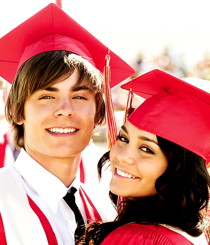 Zac Efron & Vanessa Hudgens wallpaper with an academic gown entitled ZAC/VANESSA
