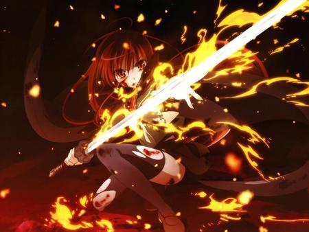 日本动漫 火, 消防