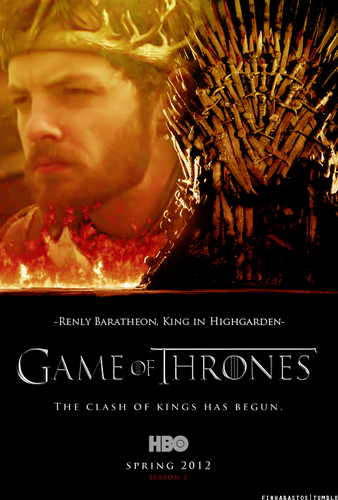 Season 2 Poster- Renly Baratheon