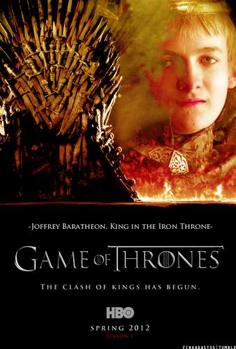 Season 2 Poster- Joffrey Baratheon